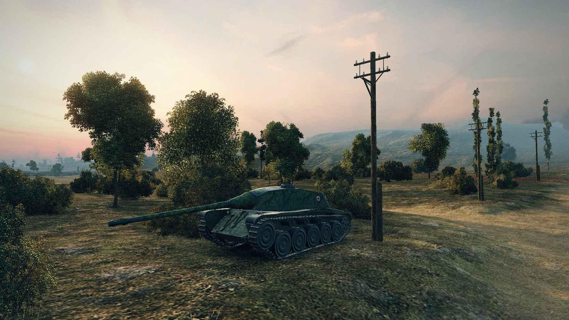 Как фармит прем - AMX Chasseur de chars . 2 бой 3700 дамага.