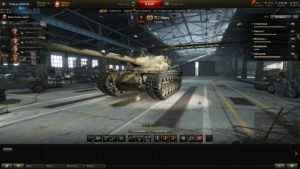Пропал выбор танков в ангаре