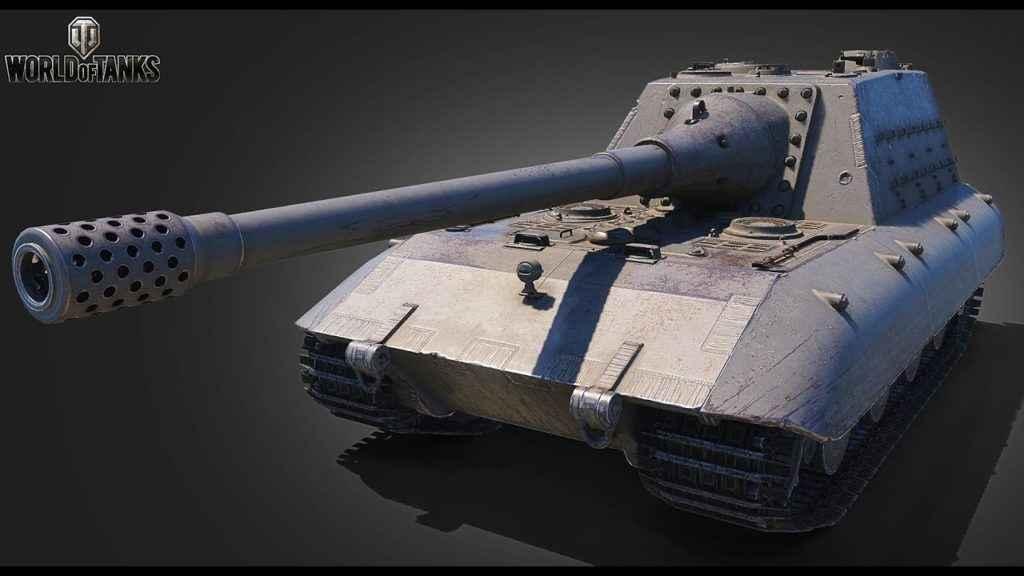 jagdpanzer e100 бабаха