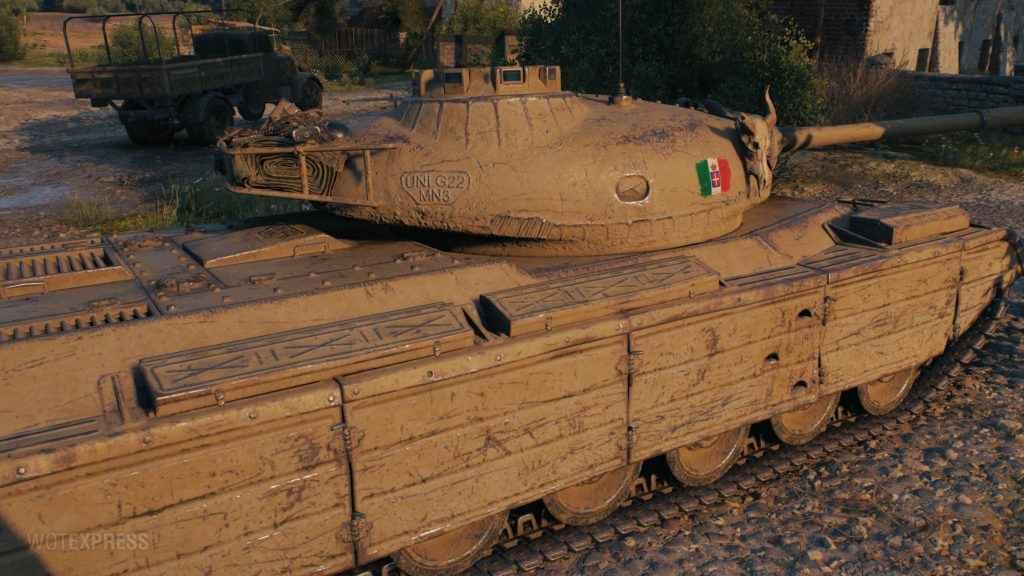 Progetto M35 mod 46 – Прем СТ 8 Италии. Как играть? Гайд