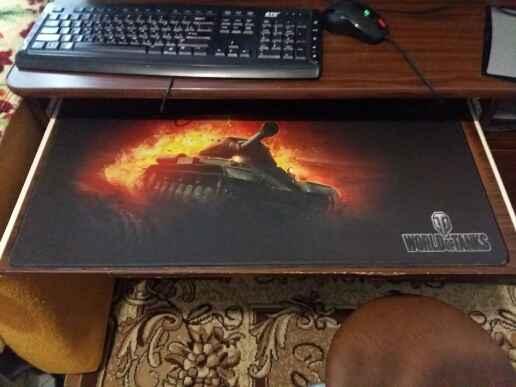 Коврики для мыши с танками из Китая от 100 рублей
