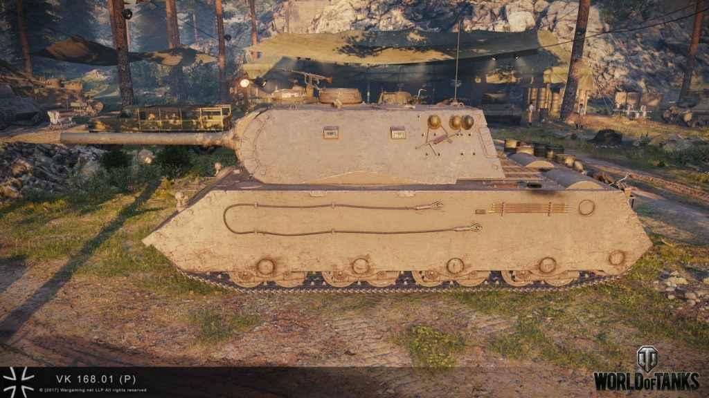 Охота на VK 168.01 P. Операция «Трофей» с 15 апреля RU