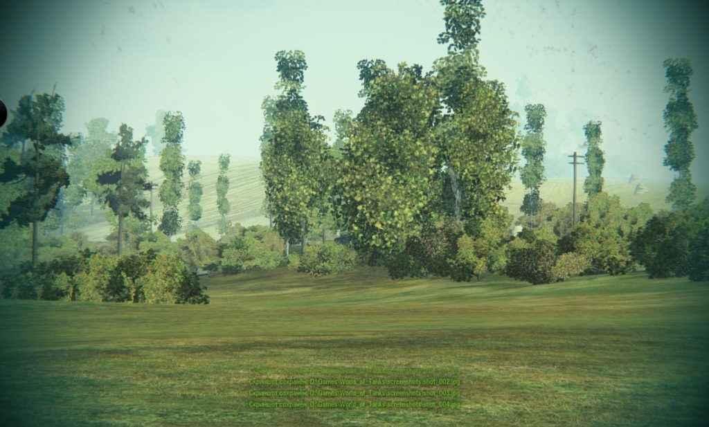 Мод Тундра - убираем кроны деревьев, удаляем листву (+вариант с черным небом)