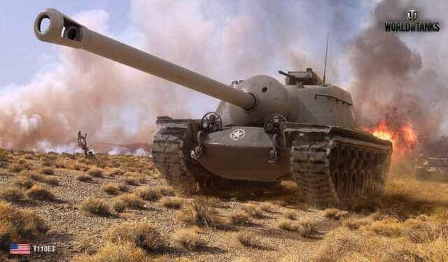 В бой на T110E3