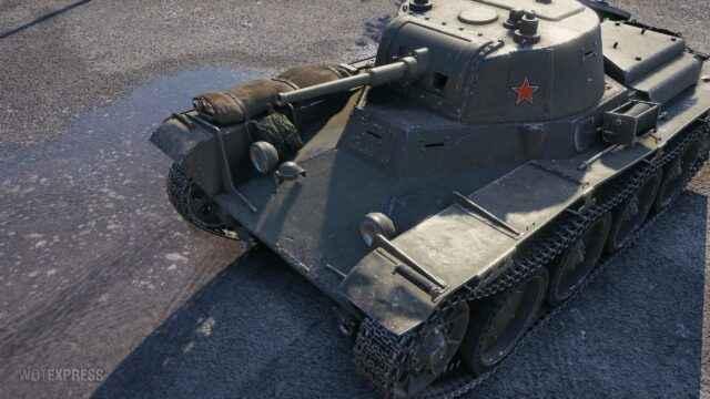 Лёгкий танк СССР Т-116
