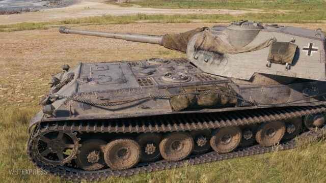 VK 75.01 (K) - Немецкий ТТ-Прем 8 уровня