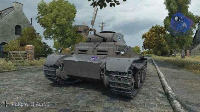Pz.Kpfw. II Ausf. J - Немецкия Имба Песка
