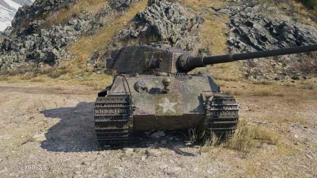King Tiger (C) или (Captured) - Американский прем 7 уровня