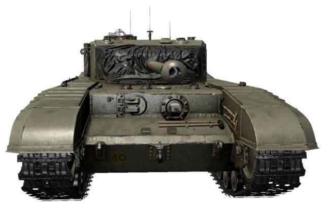 A43 BP prototype - Британский Тяж 6 уровня