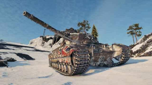 Caernarvon Action X - Премиум танк недели