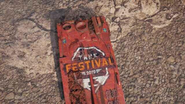 Награды за Танковый Фестиваль (декали)