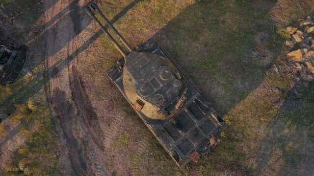 Объект 703 Вариант II СССР ТТ-8 Двуствольный