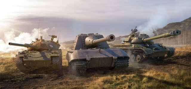 В бой на Jagdpanzer E 100, WZ-111 model 5A и STB-1