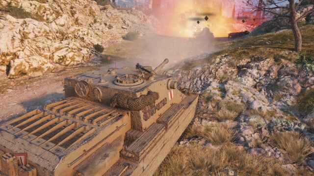Британская ПТ 8 уровня Turtle Mk. I