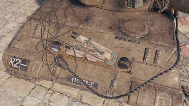 3D-стиль «Келевра» на танк Объект 430У