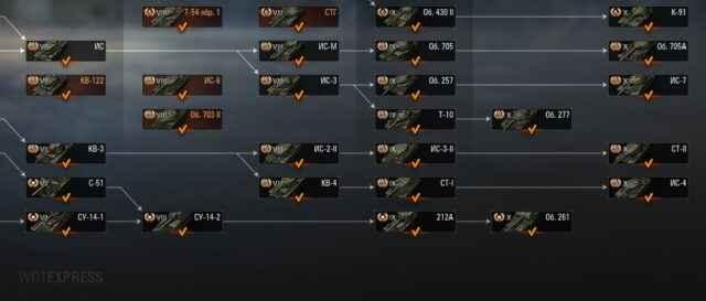 ИС-2-II - Двуствольный ТТ СССР 8 уровня