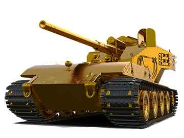Waffenträger auf E 100 ЗОЛОТОЙ