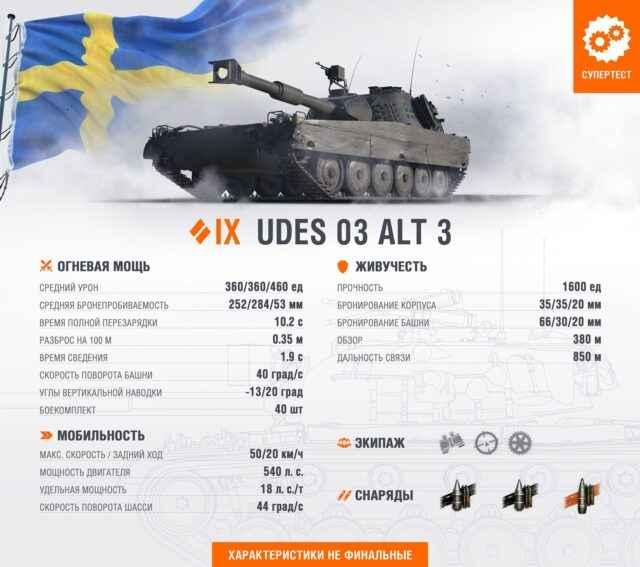 Швед СТ 9 UDES 03 Alt 3