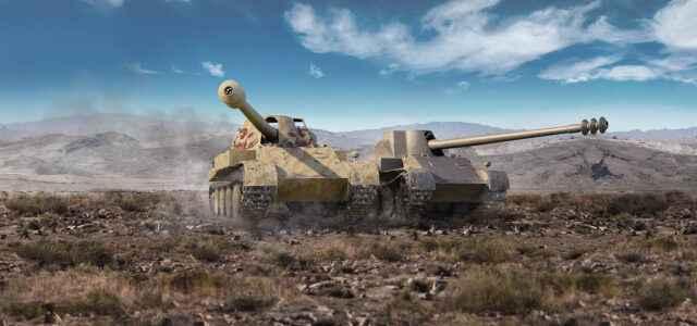 Премиум танки недели: Skorpion и Skorpion G