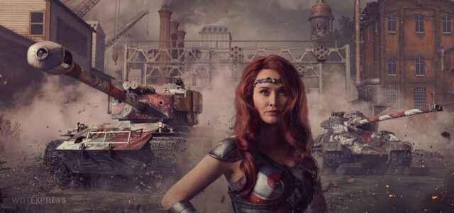 22 Набор - Королева Мэйв (Queen Maeve Kit) Prime Gaming / Twitch Prime WOT Октябрь 2020