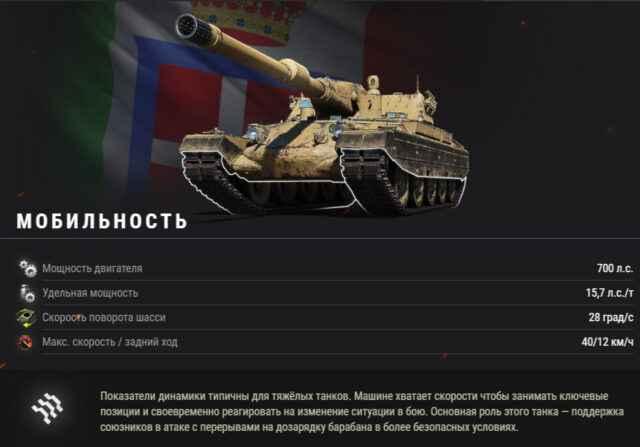 «Носорог» идёт в бой: встречайте итальянские тяжёлые танки!